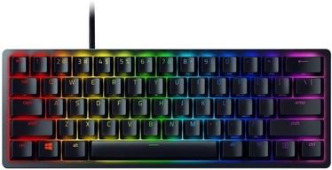 Žaidimų klaviatūra Razer Huntsman Mini Razer Purple EN, juoda