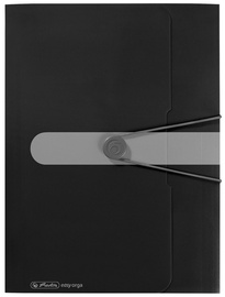 Herlitz Wallet Folder Easy Orga A4 Opaque Black 11205986