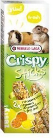 Versele-Laga Crispy Sticks Guinea Pigs-Chinchillas Citrus Fruit 110g