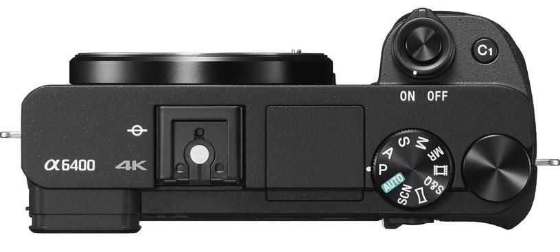Sony A6400 E-Mount Camera + 18-135mm OSS Black