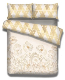 AmeliaHome Snuggy Golden Poppy Bedding Set 200x220/70x90 2pcs