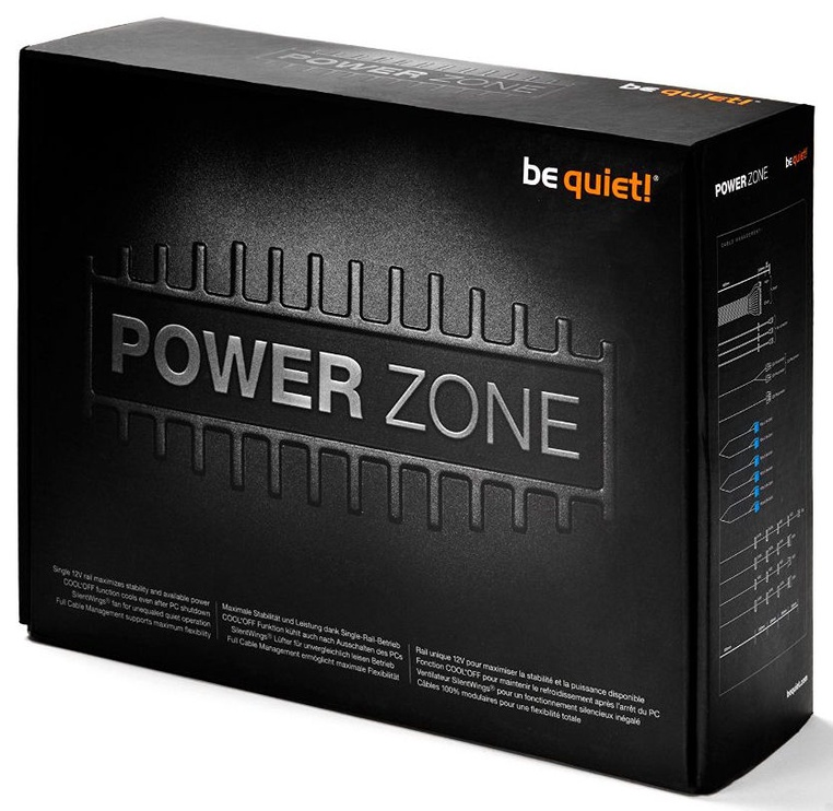 Be Quiet! ATX 2.4 Power Zone 1000W BN213