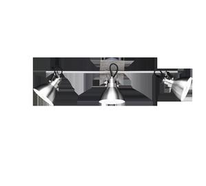 Kryptinis šviestuvas Trio Timber 805000330, 3x28W, E14
