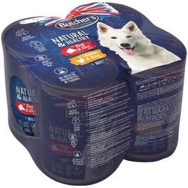 Влажный корм для собак (консервы) Butchers Natural & Healthy Dog Food 4x390g