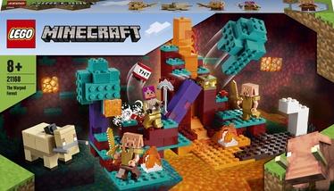 Конструктор LEGO Minecraft Искажённый лес 21168