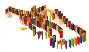 Woodyland Rally Dominoes 200pcs 90653