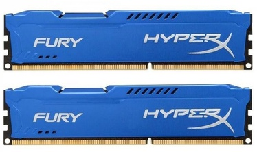 Kingston 8GB DDR3 PC14900 CL10 DIMM HyperX Fury Blue KIT OF 2 HX318C10FK2/8