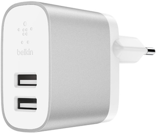 Blekin Boost Charge Dual USB Wall Charger White