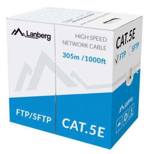 Lanberg Cable CAT 5e FTP Grey 305 m