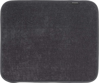 Brabantia Microfibre Dish Drying Mat 47x40cm Dark Grey