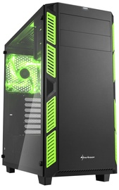Sharkoon AI7000 Tempered Glass Green
