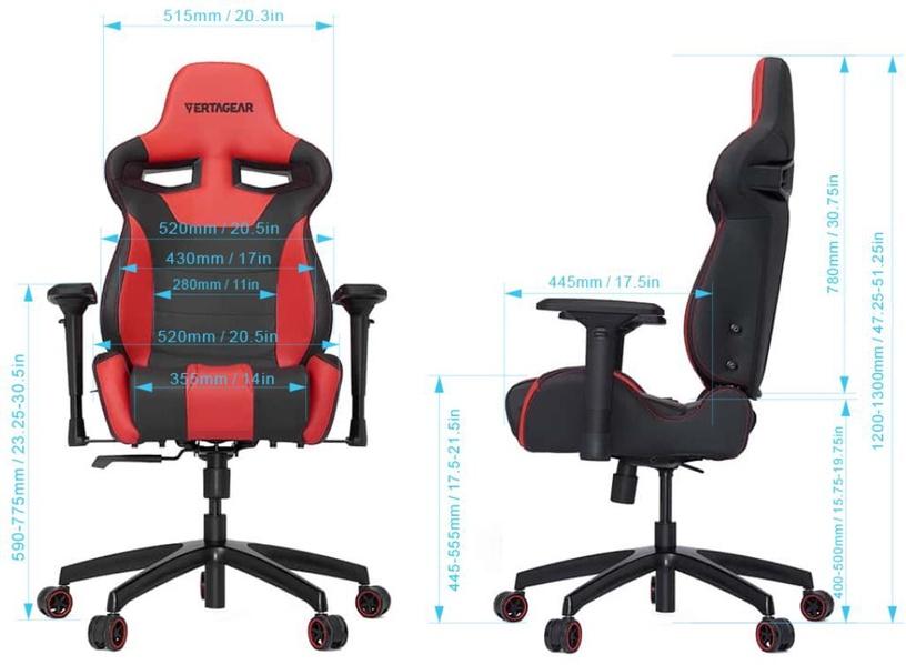 Žaidimų kėdė Vertagear Racing Series SL4000 Black/Blue