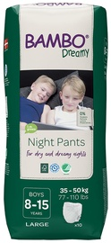 Подгузники Bambo Dreamy Night Pants Boy 8-15, 10pcs