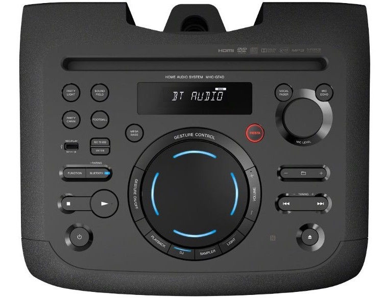 Belaidė kolonėlė Sony MHC-GT4D Black