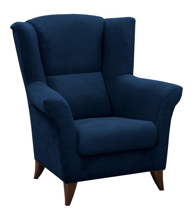 Fotelis Idzczak Meble Kent Blue, 94x75x105 cm