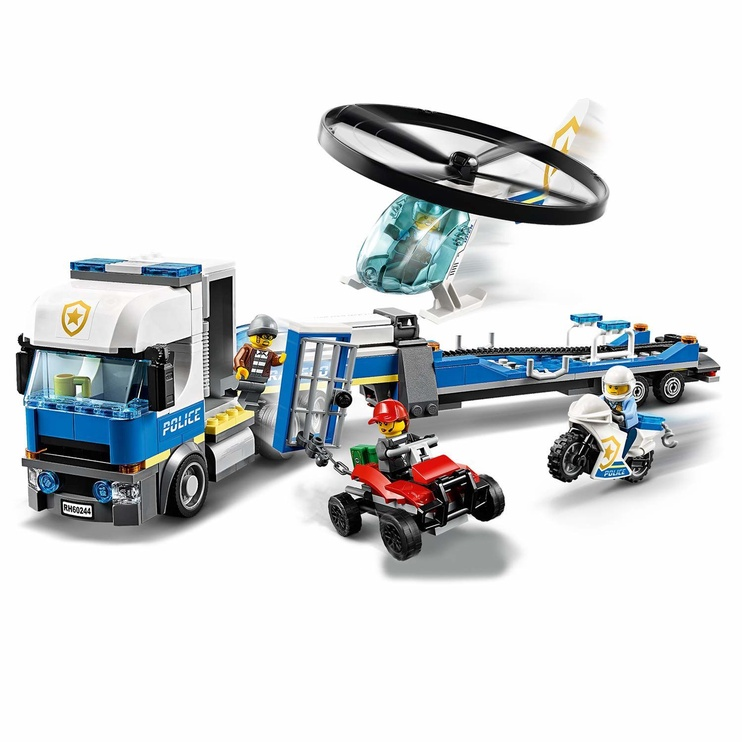 Konstruktorius LEGO City Police Helicopter Transport 60244
