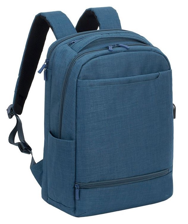 "Rivacase Notebook Backpack 17.3"" Blue"
