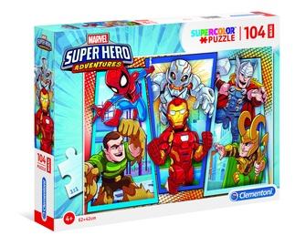 Dėlionė Clementoni Maxi Superhero 23724, 104 dalių