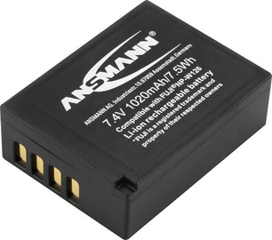 Ansmann A-Fuj NP-W Replacement Battery 126 LI 7.4V/ 1020mAh