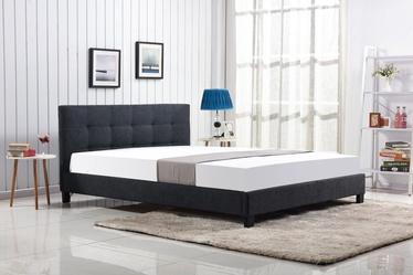 Halmar Oxford Bed 160x200cm Dark Grey