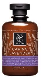 Apivita Caring Lavender Gentle Shower Gel For Sensitive Skin 300ml
