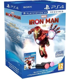 PS4 Marvels Iron Man VR PS4 + Move Controllers