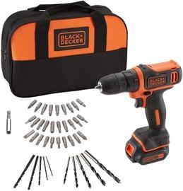 Black & Decker BDCDD121SA Cordless Drill 1.5Ah w/ Accessories