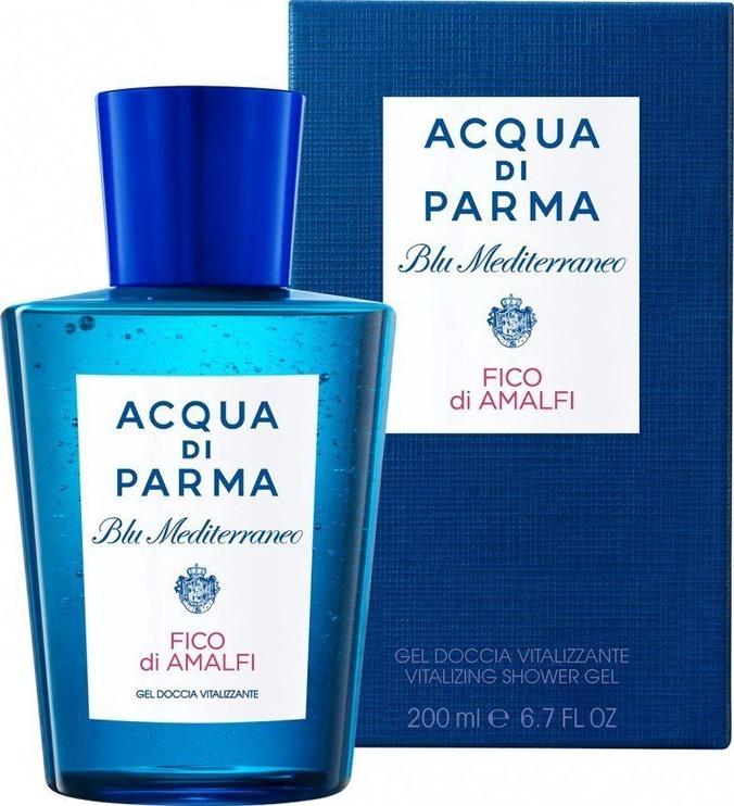 Dušo želė Acqua Di Parma Blu Mediterraneo Fico di Amalfi Vitalizing, 200 ml
