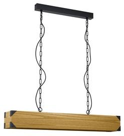 Eglo Harborough Ceiling Lamp 4x40W E27 Brown/Black
