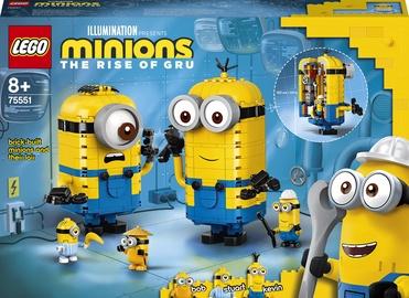 Конструктор LEGO Minions Фигурки миньонов и их дом 75551, 876 шт.