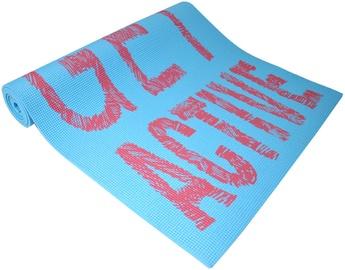 Axer Sport Yoga Mat Words 173x61x0.6cm Blue