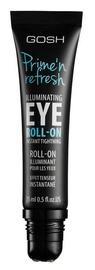 Makiažo pagrindas Gosh Prime'n Refresh Illuminating Eye Roll-On, 15 ml