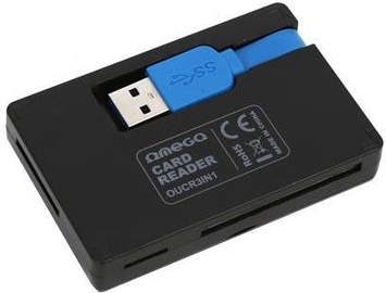 Omega USB Card Reader Black