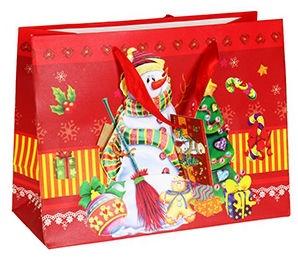 Verners Gift Bag Snowman 389294