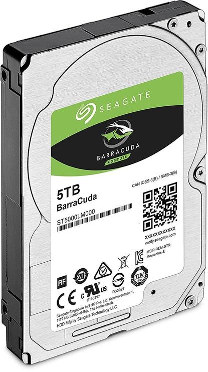 Seagate BarraCuda 5TB 5400RPM SATAIII 128MB ST5000LM000