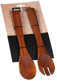 Maku Salad Serving Spoon Set Wooden 2Pcs 010535