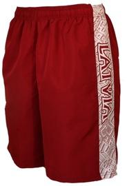 Bars Mens Sport Shorts Red/White 212 XL