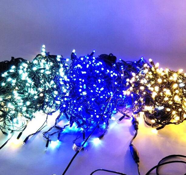 Elektriskā virtene Niveda Outdoor LED 480 Blue/White Flash, 24 m