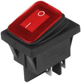Carmotion Electric Switch DC 12V/24V Red