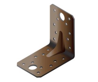Крепежный уголок Arras Reinforced Angle Bracket 150x90x150mm Brown