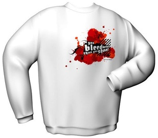 GamersWear You Bleed Better Sweater White S