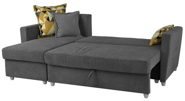 Home4you Corner Sofa Bed Asty Grey