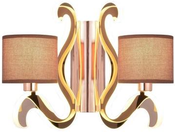 Candellux Ambrosia 2X40W E14 12.3W LED Wall Lamp Copper