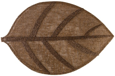 Home4you Leaf 45x30cm Brown