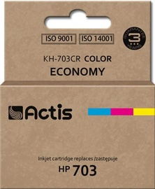 Кассета для принтера Actis Cartridge KH-703CR For HP 12ml Multicolor