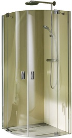 Dušikabiin Palme Valletta XO Corner Shower 900x2000x900mm Chrome/Transparent
