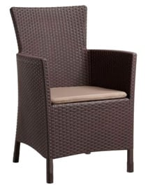 Keter Lowa Garden Chair Brown