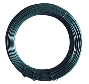 Stieple 3,8 mm, zn, pvc zaļa 30