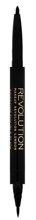 Makeup Revolution Awesome Eyeliner Felt and Kohl 0.18g Black