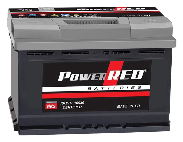 Akumulators Power Red LB4, 85 Ah, 750 A, 12 V